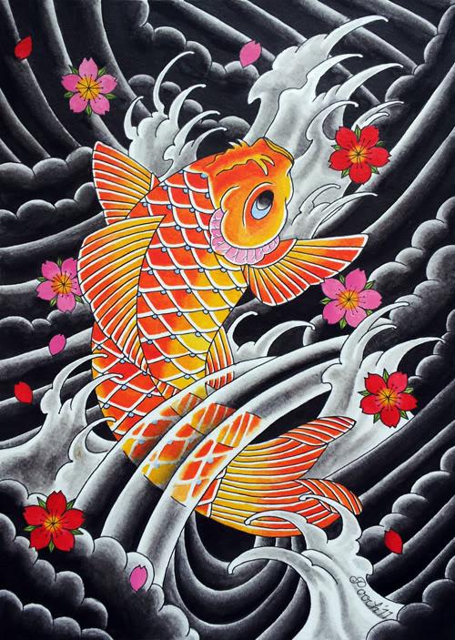 Carpa giapponese carpa koi e tutti i suoi stili e significati for Carpa koi costo