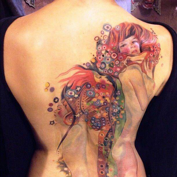 Tatuaggi figure, mezzi busti o intere