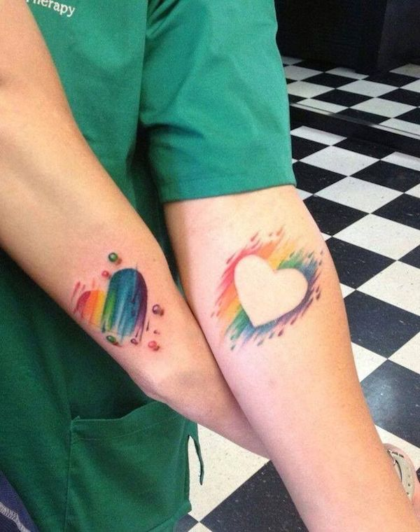 Tatuaggi amicizia, significato e diffusione
