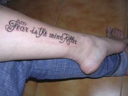 Tatuaggi frasi, lettere e caratteri, la loro diffusione